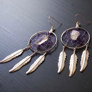 Jewelry - Vintage Dream Catcher Earrings
